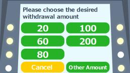 金額を選択。選択肢が無い場合は、Other Amount(その他の金額)を選択し、金額を入力。