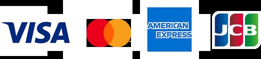 Visa Mastercard AMERICAN-EXPRESS JCB