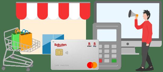 貴社ECサイトに楽天カード会員様を送客させていただきます