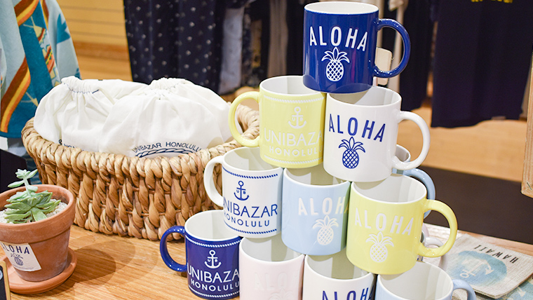 お気に入りを見つけて!ハワイ感満載のセレクトショップUNIBAZARでショッピング!