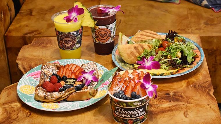 Hawaiian Aroma Cafféで優雅なコーヒーブレイクを!