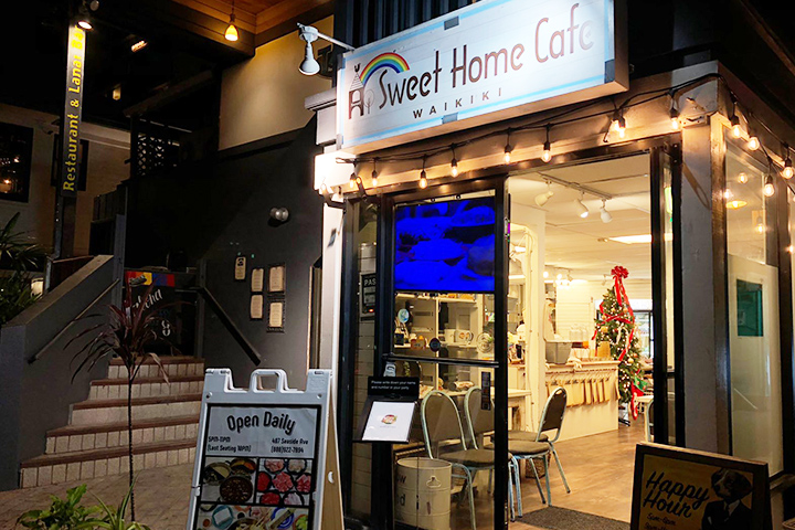 Sweet Home Cafe Waikiki 外観