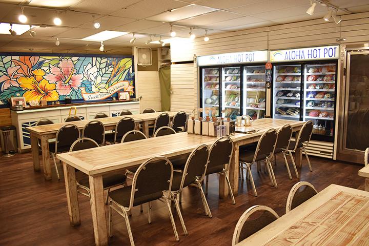 Sweet Home Cafe Waikiki 店内