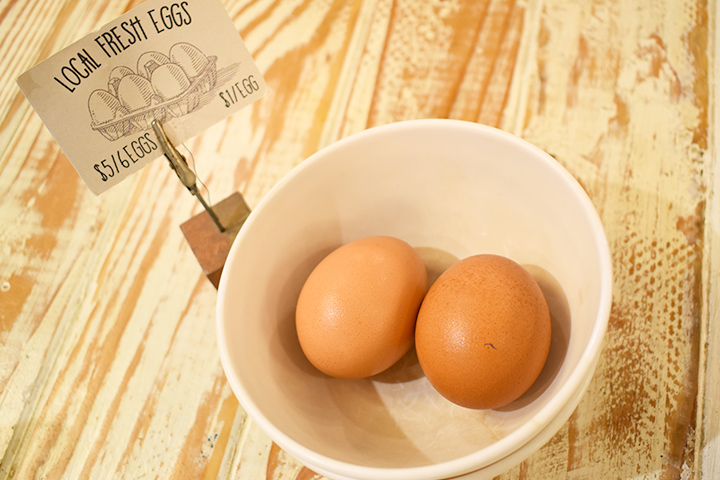 Local Fresh Egg