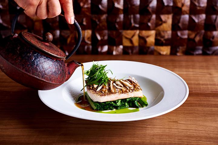 本日のハワイ産魚の蒸し焼き