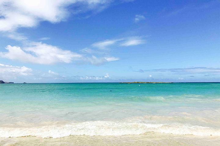 オアフ島 ラニカイビーチ