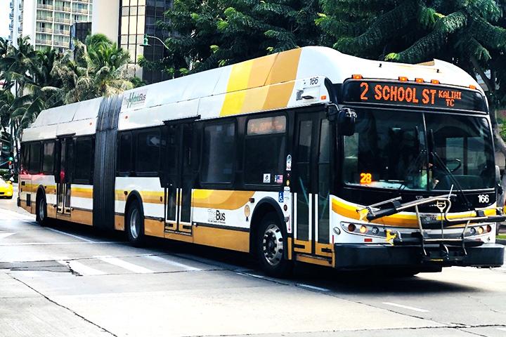 公共交通機関The Bus(ザ バス)
