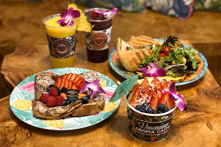 ハワイアン アロマ カフェ