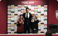 伊藤元太選手と記念撮影の写真